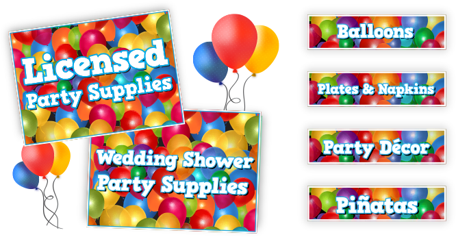 Party Store Packages